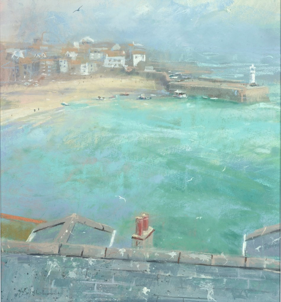 Back to St Ives by james bartholomew -  sized 21x22 inches. Available from Whitewall Galleries